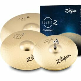 "Zildjian Planet Z Complete Cymbal Pack (14"" HH, 16"" Crash, 20"" Ride)"
