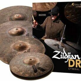 """Zildjian K Custom Special Dry Box Set (14"""" Hi-Hats, 16"""" Crash, 18"""" Crash, 21"""" Ride)"""