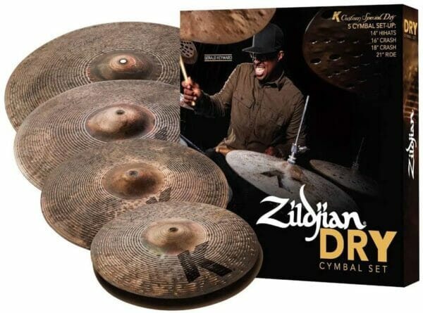 "Zildjian K Custom Special Dry Box Set (14"" Hi-Hats, 16"" Crash, 18"" Crash, 21"" Ride)"