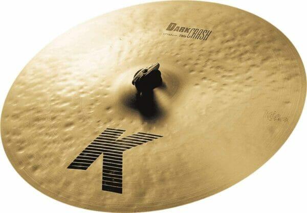 "Zildjian 17"" K Dark Crash Cymbal Thin"