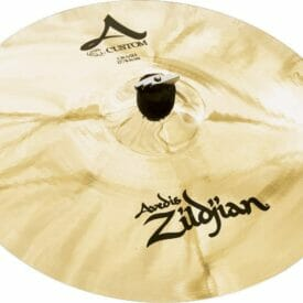 "Zildjian 17"" A Custom Crash Cymbal Brilliant Finish"