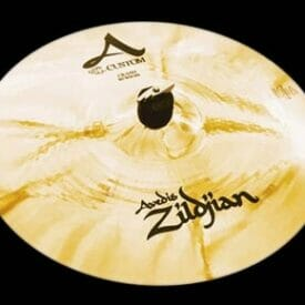"Zildjian 15"" A Custom Crash Cymbal Brilliant Finish"