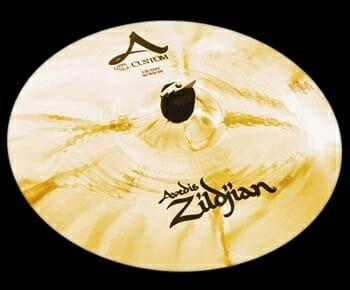 "Zildjian 15"" A Custom Crash Cymbal Brilliant Finish"