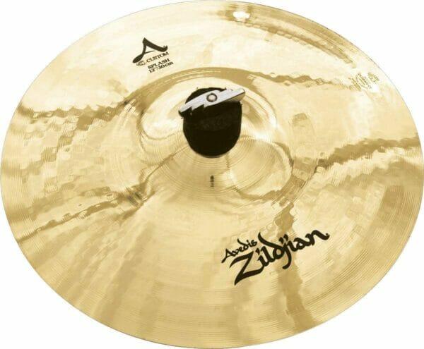 "Zildjian 12"" A Custom Splash Cymbal Brilliant Finish"