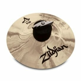 "Zildjian 10"" A Custom Splash Cymbal Brilliant Finish"