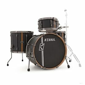 Tama Superstar Hyperdrive 4pc Drum Shell Pack - Flat Black