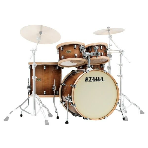 "Tama SLP Drum Kit 4 Piece Shell Pack ""Studio Maple"" - Gloss Sienna"