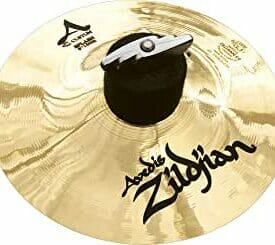 "Zildjian 6"" A Custom Splash Cymbal Brilliant Finish"