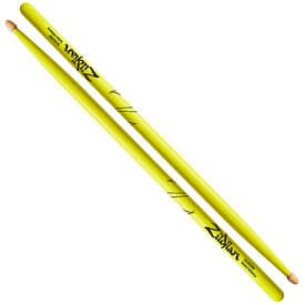 Zildjian 5A Acorn Neon Yellow