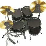 Vic Firth 22 Inch Fusion Drum and Cymbal Mute Pad Set
