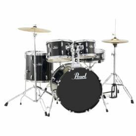 "Pearl Roadshow 20"" Starter Drum Kit with Free Stick Bag - Black"