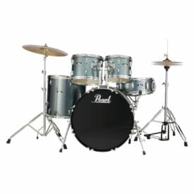 "Pearl Roadshow 20"" Starter Drum Kit with Free Stick Bag - Charcoal Metallic"
