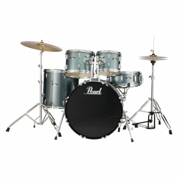 "Pearl Roadshow 20"" Starter Drum Kit with Free Stick Bag - Charcoal Metallic"