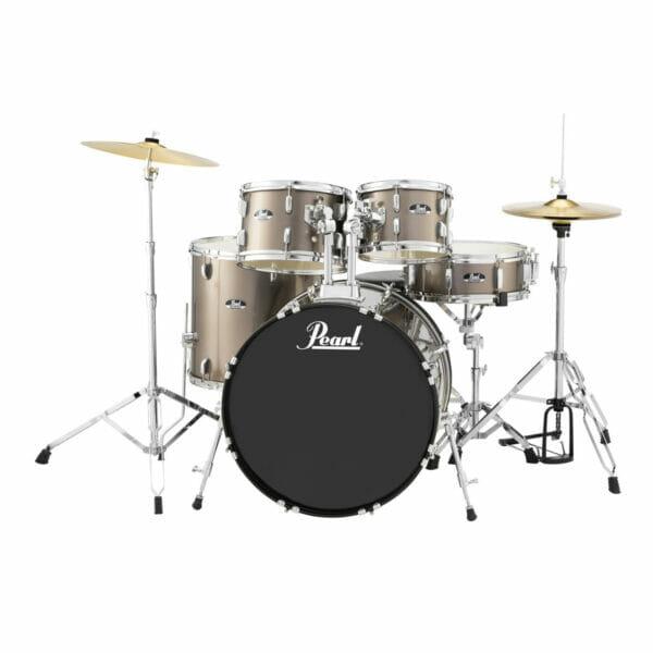 "Pearl Roadshow 22"" Starter Drum Kit with Free Stick Bag - Bronze Metallic"