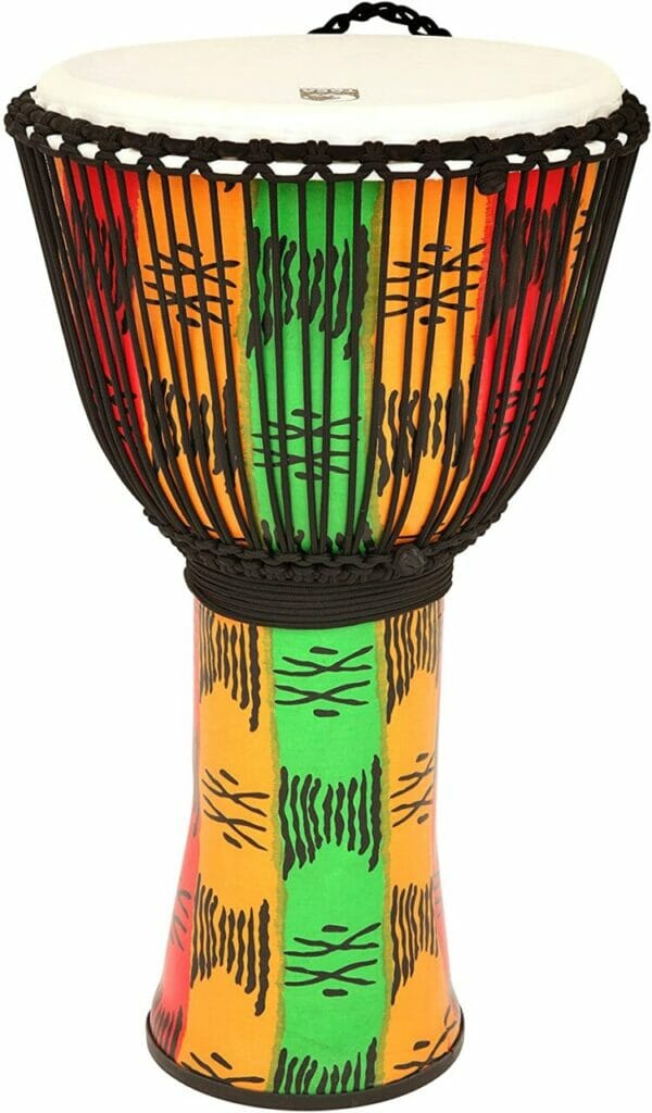TOCA TO809218 Djembe Freestyle II 9 Inch Spirit Synthetic Head Rope Tuned TF2DJ-9S