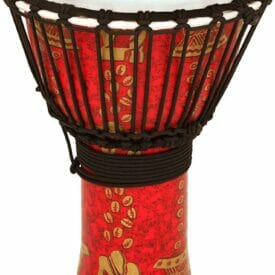 Thinker TOCA TO809226 Djembe Freestyle II 9 Inch Thinker Synthetic Head Rope Tuned TF2DJ-9T
