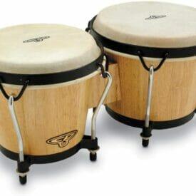 Latin Percussion LP810000 Trad Bongos - Natural
