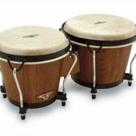Latin Percussion LP810002 CP Traditional Bongos - Dark Wood