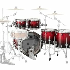 Mapex Saturn Scarlet Fade 5pc 2