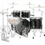 Saturn 2020 4pc Short Stack Satin Black 2