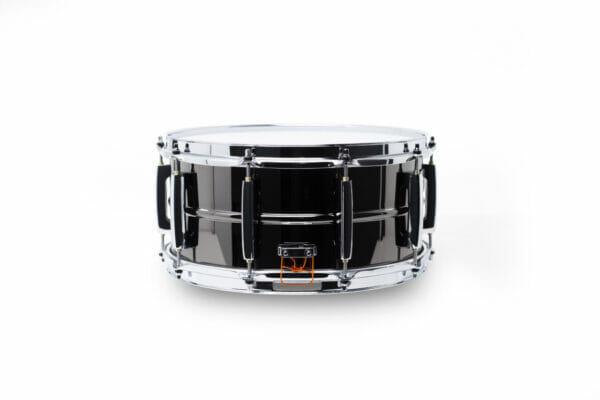 "Pearl Sensitone Heritage Alloy 14""x6.5"" Beaded Black Nickel-over-Brass Snare Drum"