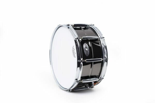 Pearl Sensitone Heritage Alloy 14x6.5 Beaded Black Nickel-over-Brass Snare Drum3