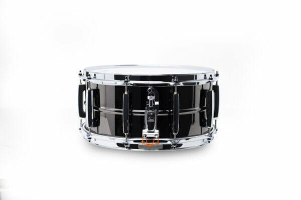 Pearl Sensitone Heritage Alloy 14x6.5 Beaded Black Nickel-over-Brass Snare Drum5