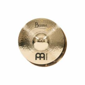 Meinl Byzance Brilliant 13 inch Serpents Hi-Hat Cymbal - Derek Roddy Signature Model