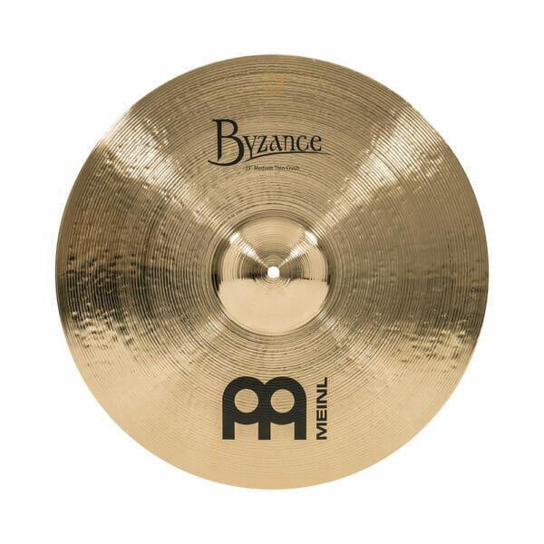 Meinl Byzance Brilliant 19 inch Medium Thin Crash Cymbal