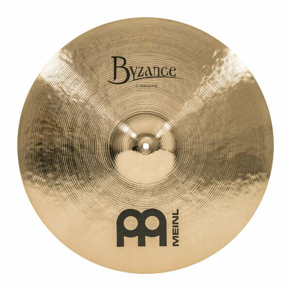 Meinl Byzance Brilliant 21 inch Medium Ride Cymbal