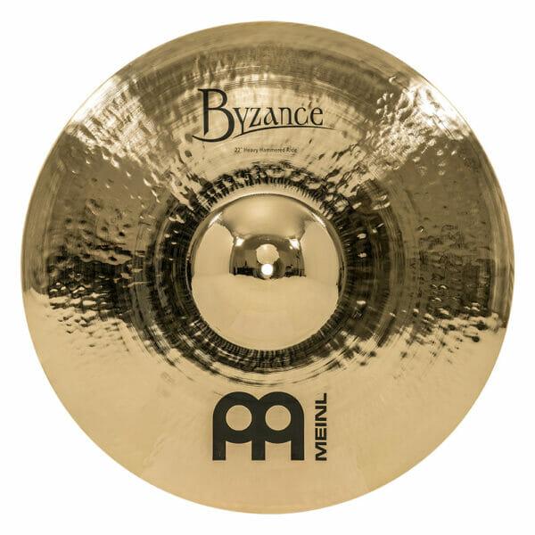 Meinl Byzance Brilliant 22 inch Heavy Hammered Ride Cymbal