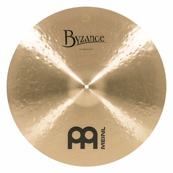 Meinl Byzance Traditional 22 inch Medium Crash Cymbal
