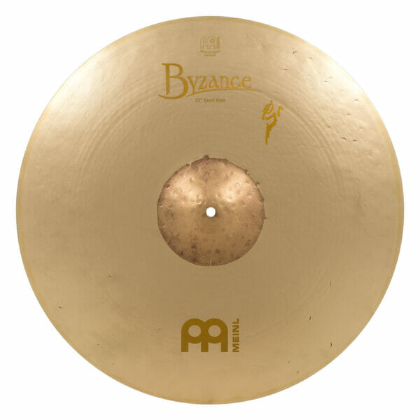 Meinl Byzance Vintage 22 inch Sand Ride Cymbal - Benny Greb Signature Model