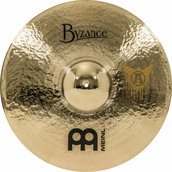 Meinl Byzance Brilliant 22 inch Pure Metal Ride Cymbal - Chris Adler Signature Model