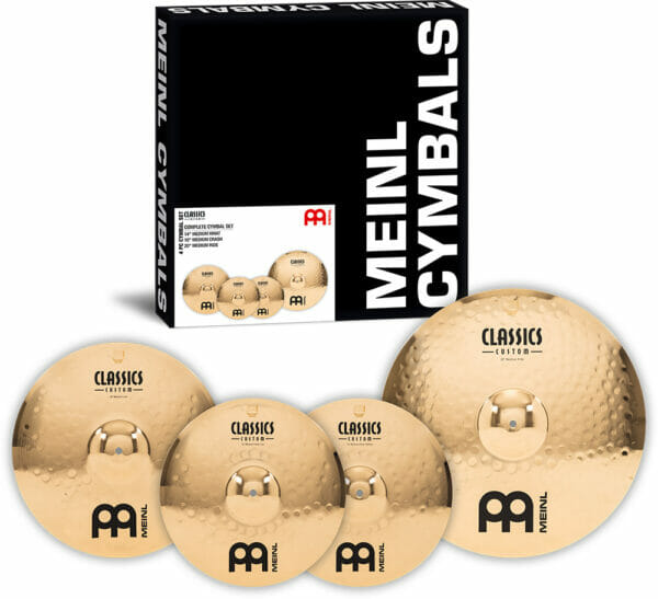 Meinl Classics Custom Complete Cymbal Set (14 inch Hi-Hat, 16 inch Crash, 20 inch Ride)