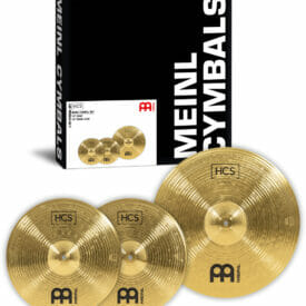 Meinl HCS Basic 14/18 Cymbal Set (14 inch Hi-Hat, 18 inch Crash-Ride)