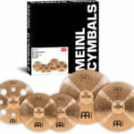 Meinl HCS Bronze Expanded Cymbal Set (14 inch Hi-Hat, 16 inch Trash Crash, 18 inch Crash, 20 inch Ride)