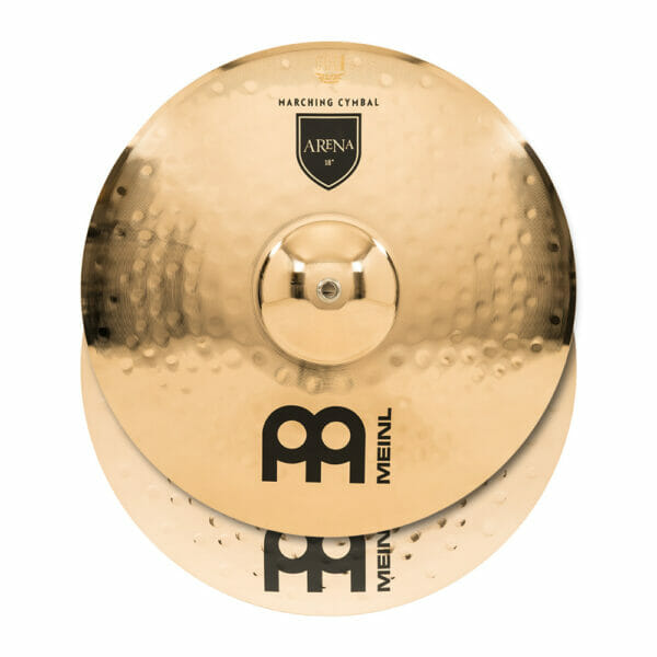 Meinl Marching 18 inch Arena Professional Range Cymbal Pair, includes BR5 Straps