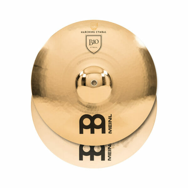 Meinl Marching 16 inch B10 Cymbal Pair, includes BR5 Straps