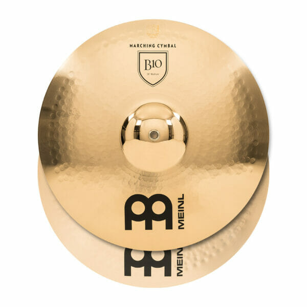 Meinl Marching 18 inch B10 Cymbal Pair, includes BR5 Straps