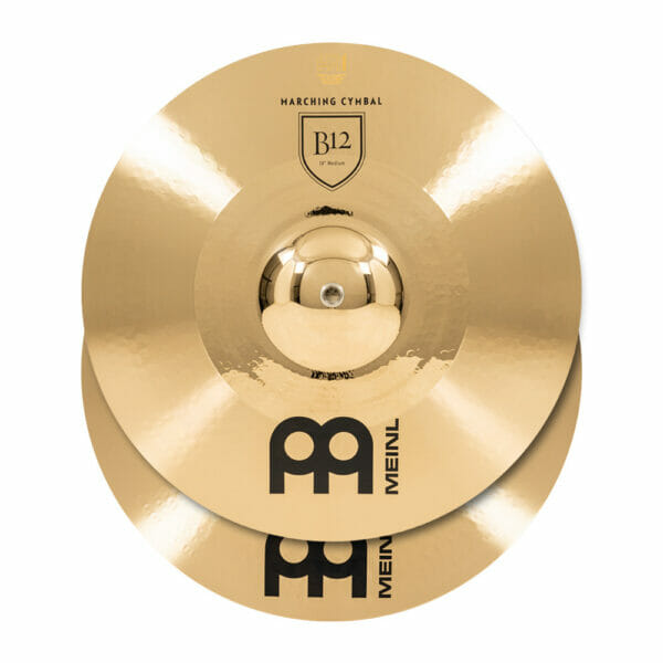 Meinl Marching 18 inch B12 Cymbal Pair, includes BR5 Straps