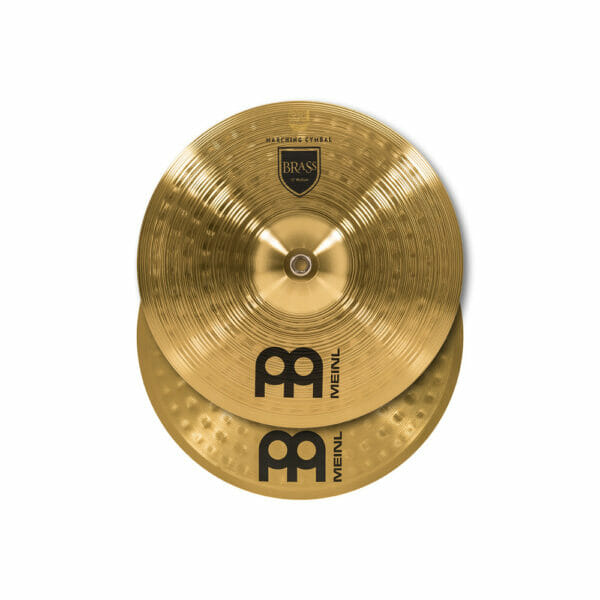 Meinl Marching 13 inch Brass Student Cymbal Pair, includes BR3 Straps