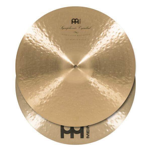 Meinl Symphonic 19 inch Medium Heavy Hand Cymbals (Pair)