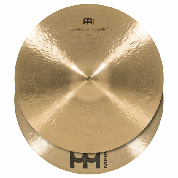 Meinl Symphonic 20 inch Heavy Hand Cymbals (Pair)