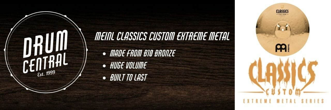 Meinl Classics Custom Extreme Metal Banner