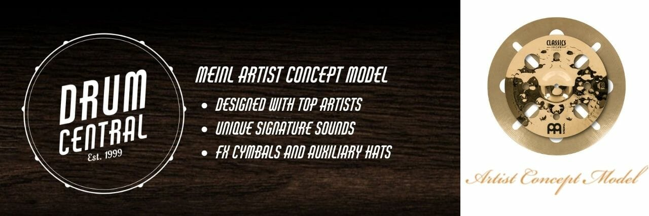 Meinl Artist Concept Model Banner
