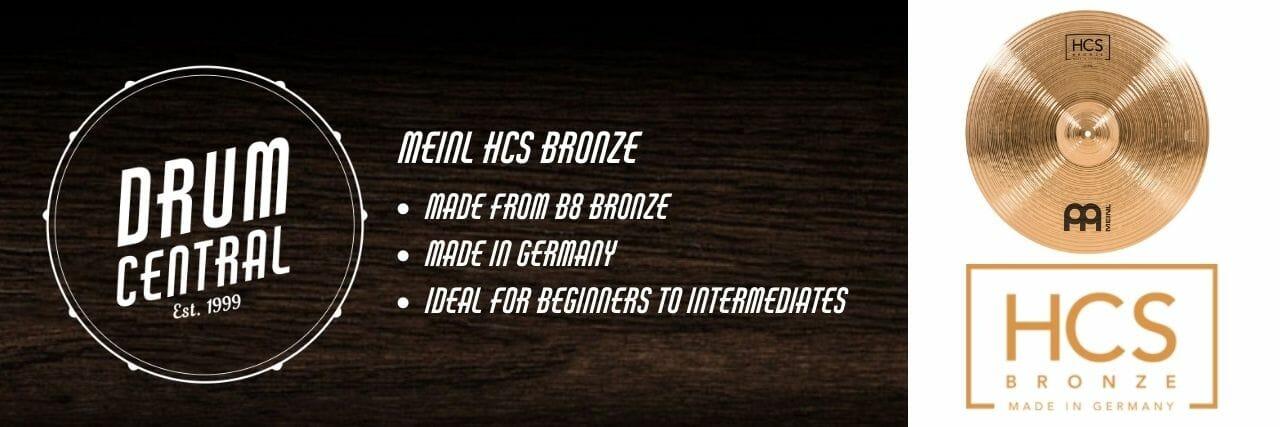 Meinl HCS Bronze Banner
