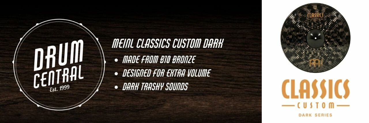Meinl Classics Custom Dark Banner