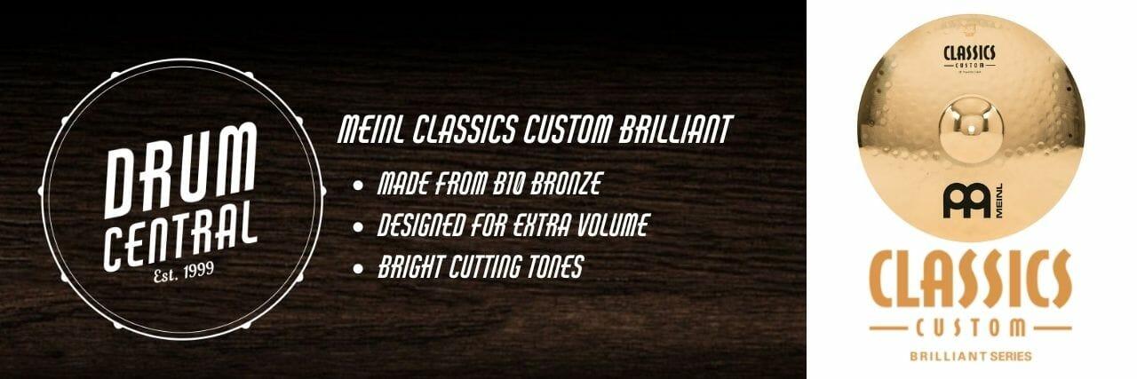 Meinl Classics Custom Brilliant Banner