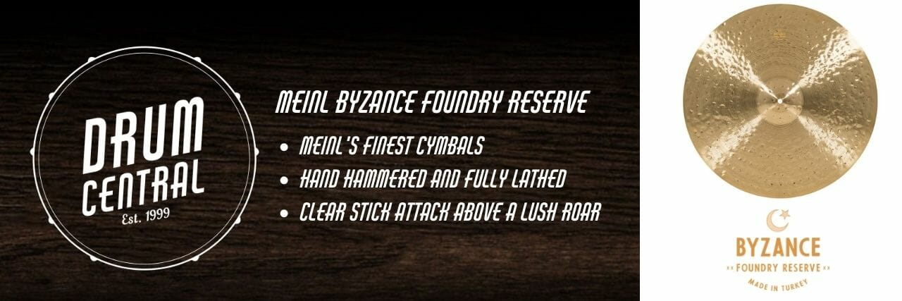 Meinl Byzance Foundry Reserve Banner